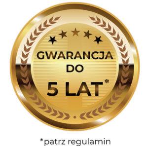 Gwarancja do 5 lat