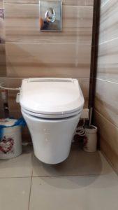 toaleta xaram energy: misa + deska myjąca, łazienka